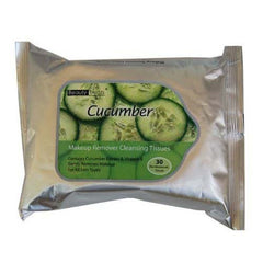 New Beauty Treats Cucumber Makeup Remover Cleansing Tissues - 30 Pack