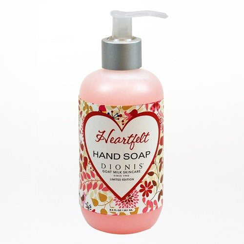"Dionis Originals Limited Edition ""Heartfelt"" Goat Milk Hand Soap (8.5 oz)"