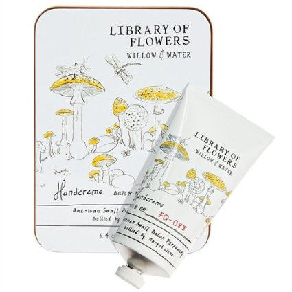 Library of Flowers Handcreme-Willow & Water