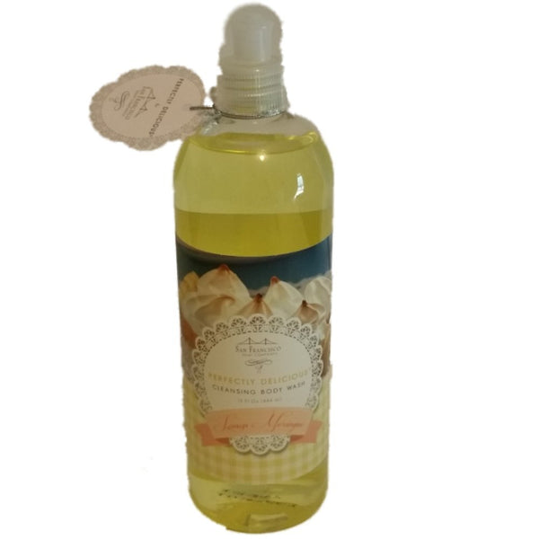 San Francisco Soap Company Lemon Meringue Perfectly Delicious Body Wash