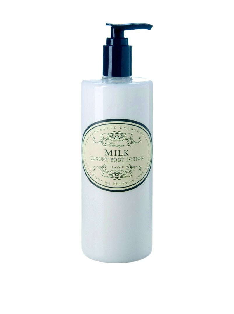 Naturally European Milk Luxury Body Lotion, 500 Ml / 17 Oz
