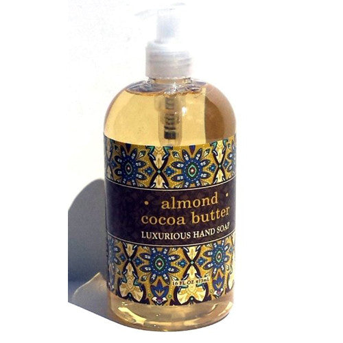 Almond Cocoa Butter Luxurious Hand Soap by Greenwich Bay Trading Co. 16 oz