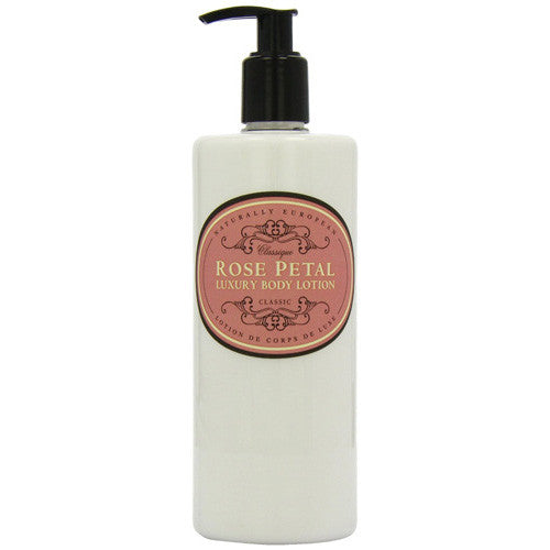 Naturally European ROSE PETAL Rich & Nourishing Luxury Body Lotion 500ml