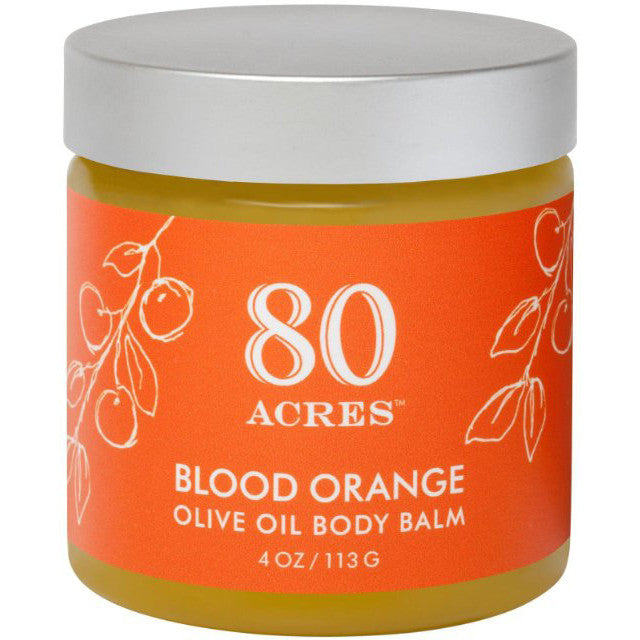 80 Acres Blood Orange Olive Oil Body Balm 4 oz