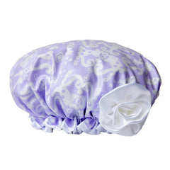 Copy of Bella Il Fiore Lavendar Shower Cap