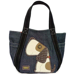 Chala Carryall Tote - Toffy Dog (Denim)