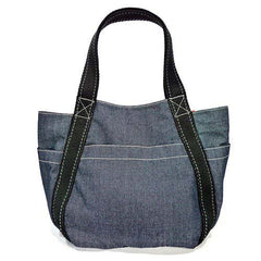 Chala Carryall Tote - Toffy Dog (Denim)-2