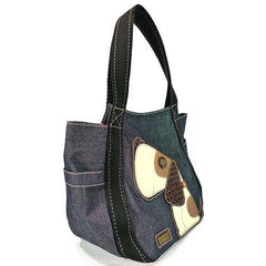 Chala Carryall Tote - Toffy Dog (Denim)-3