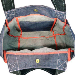 Chala Carryall Tote - Toffy Dog (Denim)-6