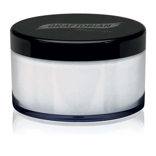 Graftobian HD Luxe Cashmere Setting Powder - Coconut Cream (0.7 oz)