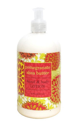 Pomegranate Shea Butter Hand & Body Lotion 16 oz