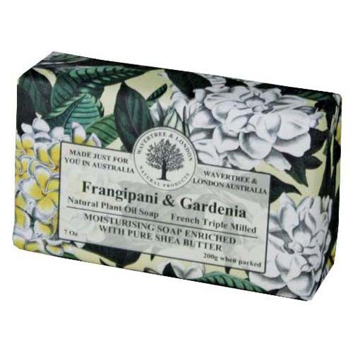 Wavertree & London Frangipani and Gardenia luxury soap (1 bar)