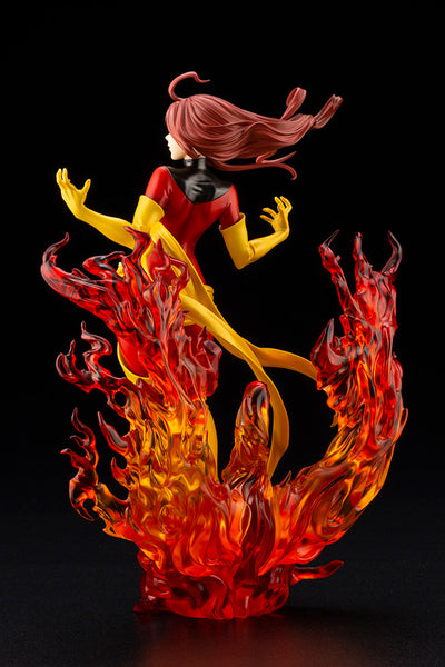 X-Men - Dark Phoenix - Bishoujo Statue - Marvel x Bishoujo - 1/7 Back Right Side