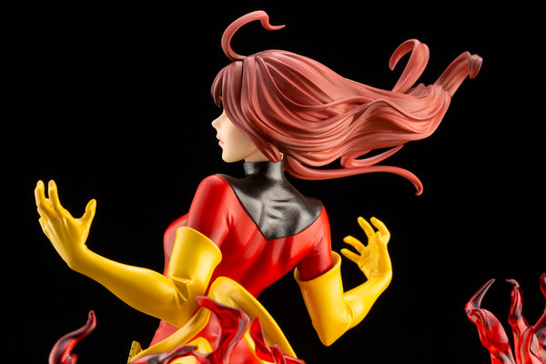 X-Men - Dark Phoenix - Bishoujo Statue - Marvel x Bishoujo - 1/7 Back Closeup