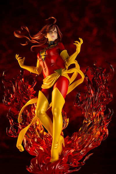 X-Men - Dark Phoenix - Bishoujo Statue - Marvel x Bishoujo - 1/7 Front Special Background