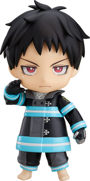 Enn Enn no Shouboutai - Shinra Kusakabe - Nendoroid #1235 No Background