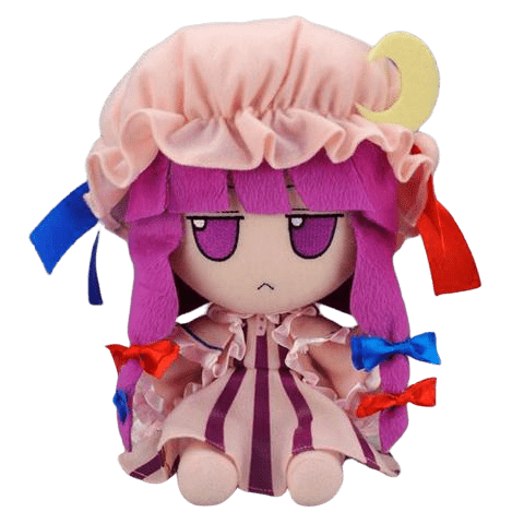 Patchouli Knowledge plushie