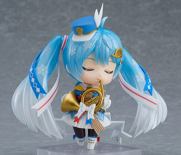 Snow Miku Closed Eye Expression