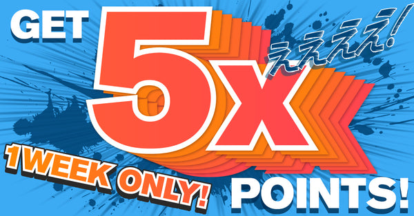 Earn 5x the points!