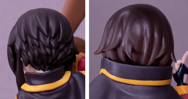 Megumin hair sculpt Pop Up Parade vs. prize