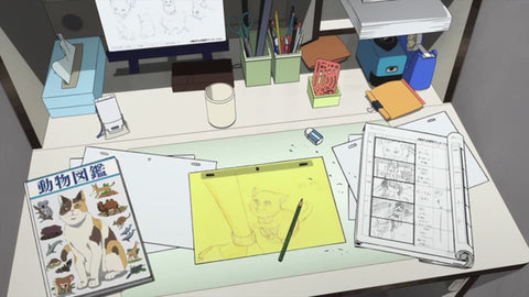 Anime Workdesk