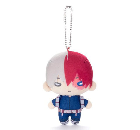 Nitotan - Boku no Hero Academia - Plush with Ball Chain Todoroki Shoto (New Costume Ver.)