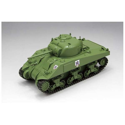 Girls und Panzer - M4 Sherman - 1/35 - Saunders University High School (Fine Molds)