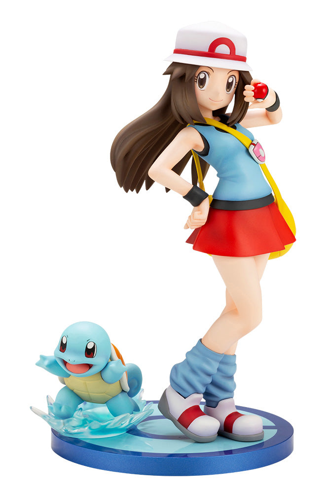 Pocket Monsters - Leaf - Zenigame - ARTFX J - Pokémon Figure Series (Kotobukiya)