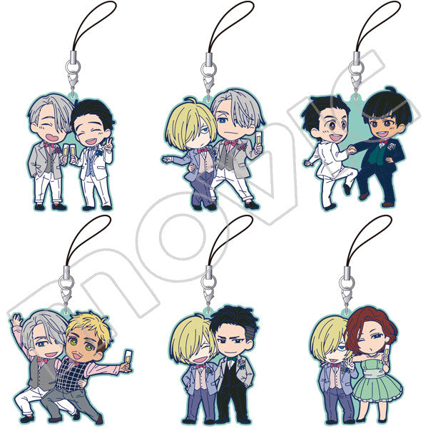 Image 1 for Yuri!!! on Ice - Rubber Strap Collection - Party - Blind Box Set
