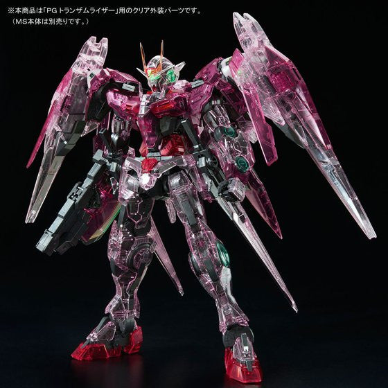 Image 1 for Kidou Senshi Gundam 00 - GN-0000 + GNR-010 00 Raiser - GN-0000 00 Gundam - GNR-010 0 Raiser - Trans-Am Raiser Clear Color Body - 1/60