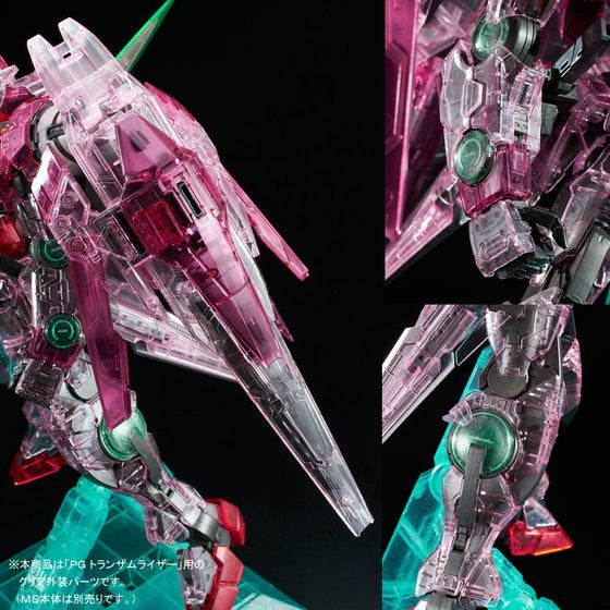 Image 7 for Kidou Senshi Gundam 00 - GN-0000 + GNR-010 00 Raiser - GN-0000 00 Gundam - GNR-010 0 Raiser - Trans-Am Raiser Clear Color Body - 1/60