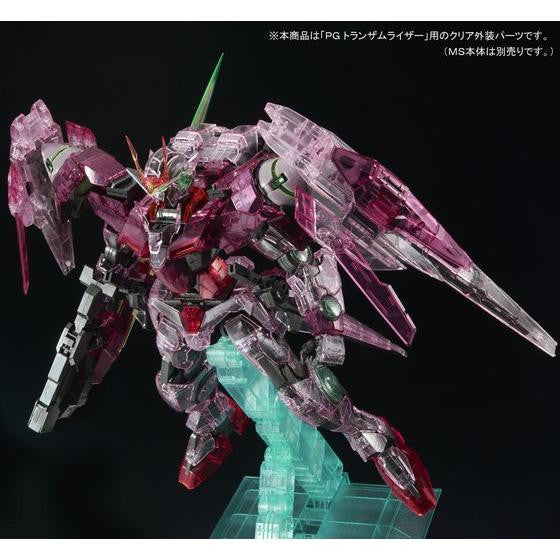 Image 9 for Kidou Senshi Gundam 00 - GN-0000 + GNR-010 00 Raiser - GN-0000 00 Gundam - GNR-010 0 Raiser - Trans-Am Raiser Clear Color Body - 1/60