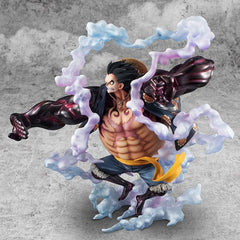 "One Piece - Monkey D. Luffy - Excellent Model - Portrait Of Pirates ""SA-MAXIMUM"" - 1/8 - Gear Fourth, Boundman"