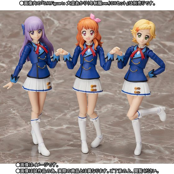 Image 1 for Aikatsu! - Hikami Sumire - Shinjou Hinaki - S.H.Figuarts - Winter Uniform ver.