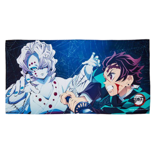 Demon Slayer - Tanjiro vs Rui - Bath Towel (Bandai) [Shop Exclusive]