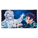 Demon Slayer - Tanjiro vs Rui - Bath Towel (Bandai) [Shop Exclusive] - 1