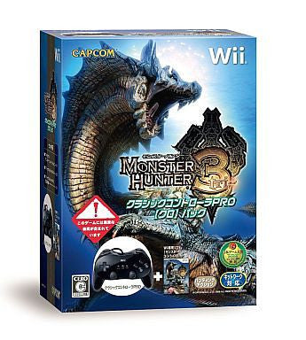 Image 1 for Monster Hunter 3 (w/ Classic Controller Pro Black)