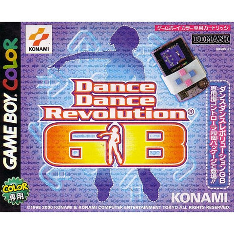 Image for Dance Dance Revolution GB