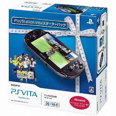 Image for PSVita PlayStation Vita - 3G/Wi-Fi Model (Starter Pack w/ Minna no Golf 6)