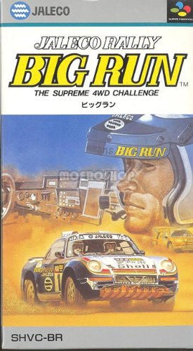 Image 1 for Jaleco Rally Big Run: The Supreme 4WD Challenge