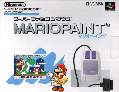 Image 1 for Mario Paint [Mouse Set]