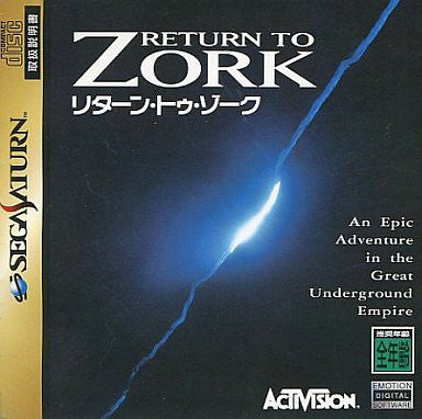 Image for Return to Zork