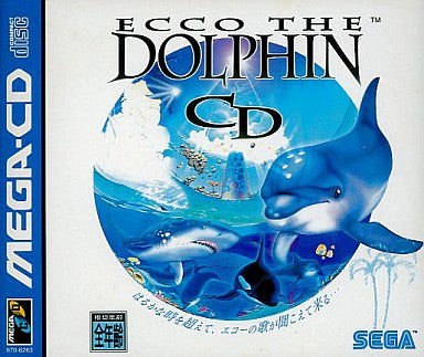 Image 1 for Ecco the Dolphin CD