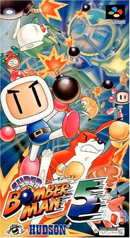 Image for Super Bomberman 5