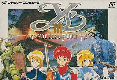 Image for Ys III: Wanderers from Ys