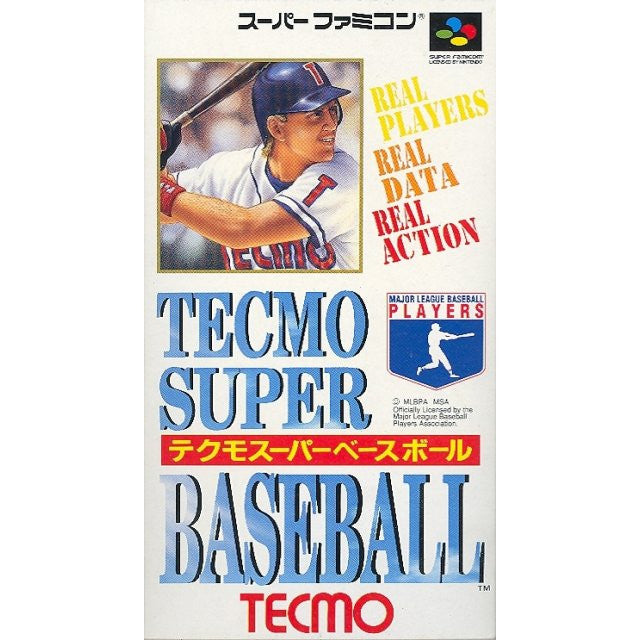 Image 1 for Tecmo Super Baseball