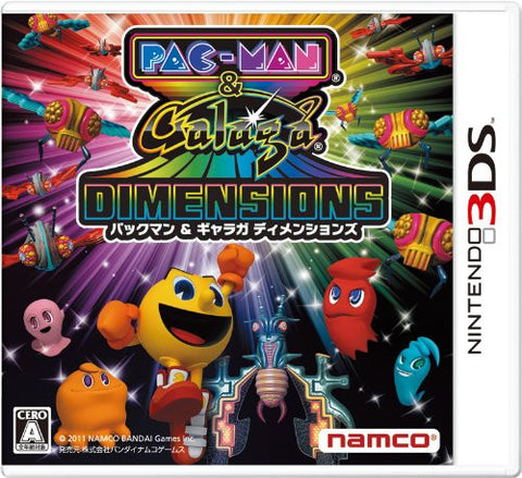 Image for Pac-Man & Galaga Dimensions