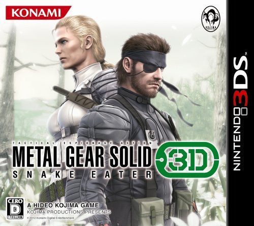 Image 1 for Metal Gear Solid: Snake Eater 3D