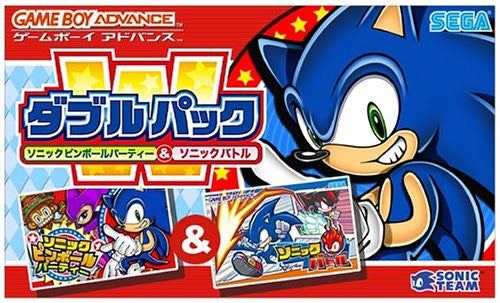 Image 1 for Double Pack Sonic Pinball Party & Sonic Battle