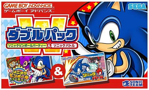 Image for Double Pack Sonic Pinball Party & Sonic Battle